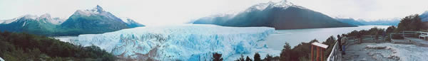 Panoramic of Moreno Glacier